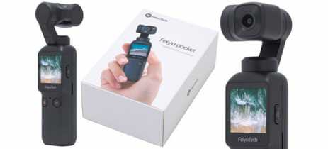 Feiyu Pocket chega com câmera 4K60fps para brigar com DJI OSMO Pocket