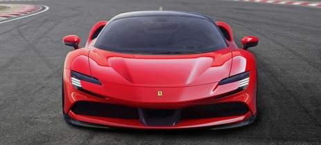 Primeira Ferrari elétrica chega só depois de 2025, mas com tecnologia pioneira