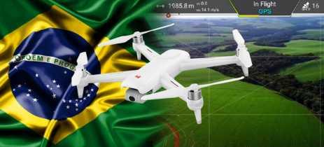 Brasileiro bate recorde mundial do drone FIMI X8 SE voando por mais de 8.5Km