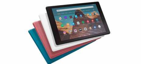 Amazon lança novas versões do tablet Fire HD 10 com processador mais rápido