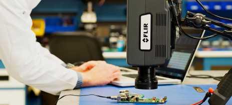 Flir apresenta nova geração de câmeras térmográficas compactas Flir A8580