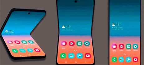 Galaxy Fold 2 pode chegar em julho como primeiro celular com câmera sob a tela