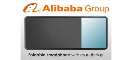 Chinesa Alibaba pode ter seu próprio celular dobrável com tela frente e verso