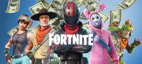 Jogadores estão gastando menos com conteúdo in-game em Fortnite e outros jogos