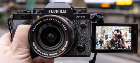 Fujifilm anuncia câmera mirrorless X-T4 com sistema de estabilização no corpo e tela LCD flip