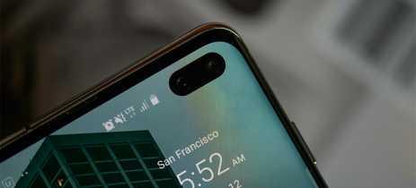 Próximo Galaxy S pode vir com câmera frontal embaixo da tela