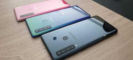 Galaxy A9, o primeiro smartphone do mundo com quatro câmeras atrás, chega na Rússia
