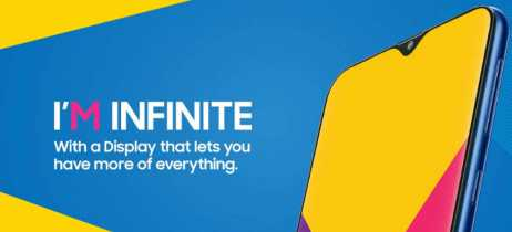 Galaxy M10 e M20 estreiam nova linha intermediária da Samsung com design Infinity-V