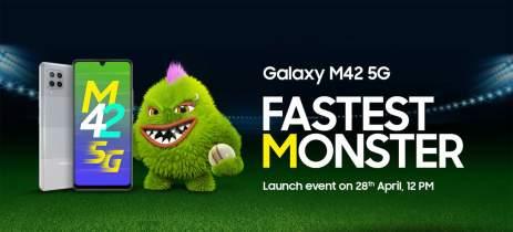 Samsung Galaxy M42 5G chega dia 28 de abril com Snapdragon 750G