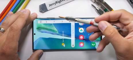 Samsung Galaxy Note 20 sobrevive teste de durabilidade mais famoso da internet