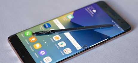 Samsung relembra história da linha Note em infográfico, mas não cita modelo Note7