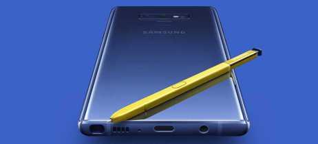 Galaxy Note 9 chega com caneta aprimorada e tela de 6,4 polegadas