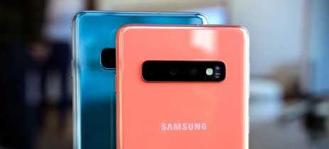 Atualização para os Galaxy S10 está chegando com melhorias de câmera em modo Noturno e Live Focus