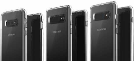 Novo vazamento mostra todos os três Galaxy S10 em capas protetoras em alta resolução