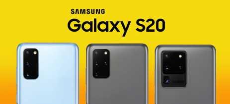 Estes são os Galaxy S20! Confira imagens oficiais e preços dos novos topo de linha da Samsung