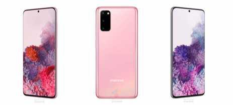 Galaxy S20: Samsung confirma nome, design e capa LED em site oficial