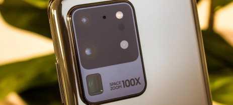 Samsung promete melhorar a qualidade de imagem da câmera do Galaxy S20 Ultra