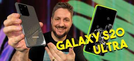 GALAXY S20 ULTRA - Veja nossas impressões com o MELHOR celular da Samsung