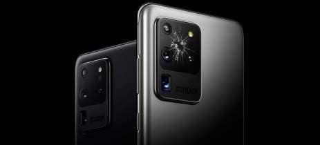 Usuários do Galaxy S20 Ultra relatam que vidro das câmeras está quebrando