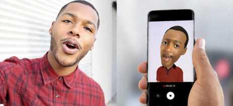 Galaxy S9 permite que usuário faça emojis 3D personalizados