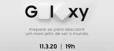 Samsung marca evento de lançamento do Galaxy S20 e Z Flip no Brasil