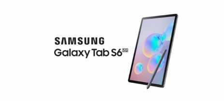Samsung Galaxy Tab S6 com 5G aparece em agência certificadora coreana