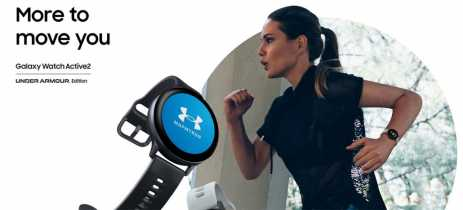 Samsung anuncia parceria para lançar Galaxy Watch Active2 Under Armour Edition