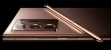 Veja as primeiras imagens oficiais do Galaxy Note 20 Ultra
