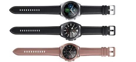 Renderizações vazadas mostram cores e specs do Samsung Galaxy Watch 3