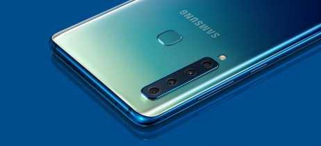 Intermediário premium Galaxy A9 chega ao Brasil com 4 câmeras traseiras