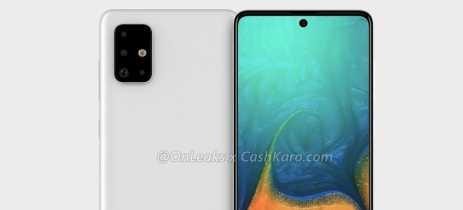 Samsung Galaxy A71 terá câmera quádrupla e selfie em buraco na tela, indica rumor