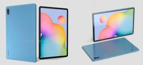 Samsung Galaxy Tab S7 aparece em renderizações e tela pode ter até 120Hz [RUMOR]