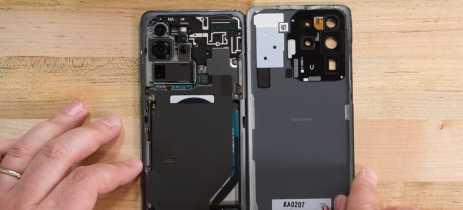 iFixit desmonta Galaxy S20 Ultra e dá nota 3/10 em reparabilidade