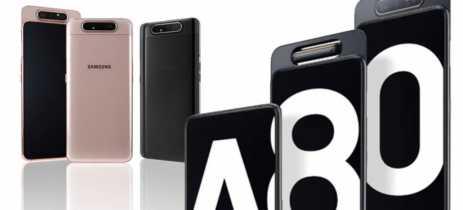 Galaxy A80 vai chegar no Brasil dia 5 de agosto por R$3.499