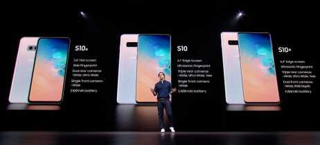 Galaxy S10, S10+ e S10e: confiras as especificações e preços dos novos topos de linha da Samsung