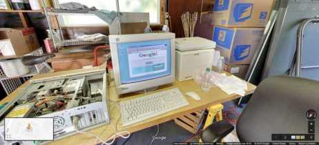 Google comemora seus 20 anos com visita pelo Street View à garagem onde tudo começou