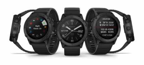 Garmin lança Tactix Delta, smartwatch feito seguindo padrões militares