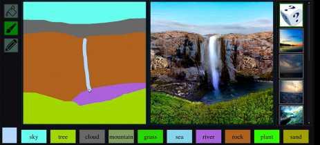 IA de pintura Nvidia GauGAN já foi usada para fazer mais de meio milhão de imagens