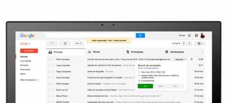 Versão web do Gmail ganhará novo design nas próximas semanas
