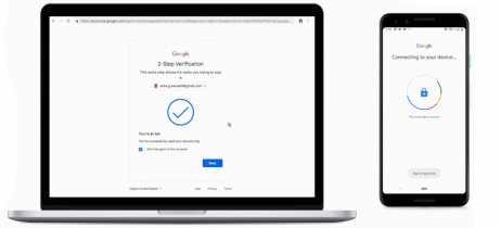 Agora aparelhos Android podem ser usados como chave de segurança para contas Google