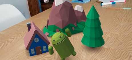 Google ARCore funciona no OnePlus 6, mesmo sem ter suporte oficial