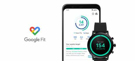 Novo design do Google Fit foca na contagem de passos