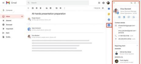 Gmail vai trazer