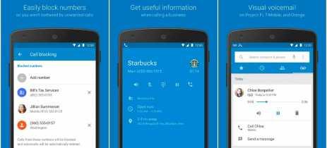 Google Phone está disponível para alguns smartphones que não são Pixel