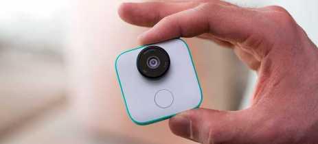 Google encerra produção de câmeras Clips