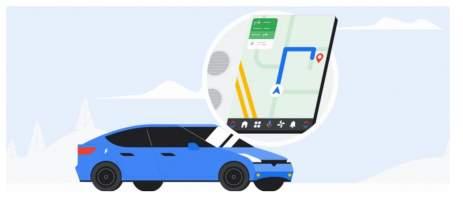 Google Maps para Android Auto está sendo otimizado para mão inglesa