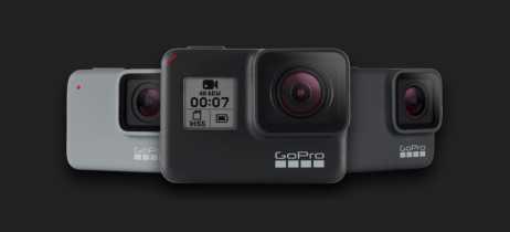 GoPro anuncia linha Hero7 com três novas câmeras à prova d'água e com touchscreen