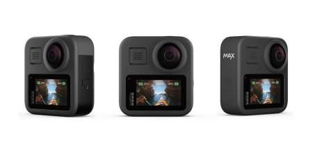 GoPro MAX recebe updates como timelapse e vídeos 360° em 3K a 60fps