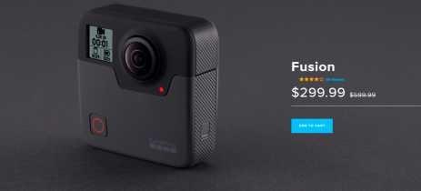 Gopro corta preço da câmera 360º Fusion em 50% devido chegada da nova Max [+UPDATE]
