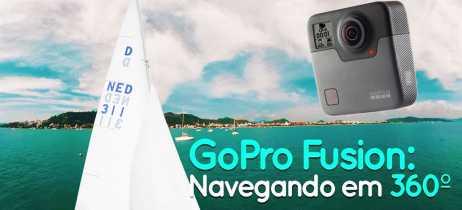 Veleje em Floripa em nosso vídeo 360º gravado com a GoPro Fusion